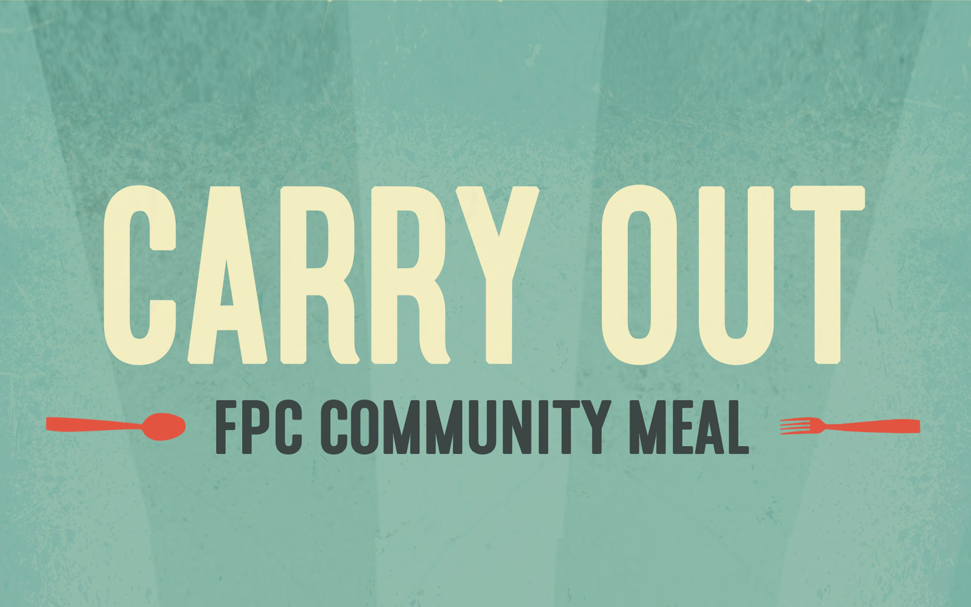 Free Carry-Out Meal @ 5pm July 22, 2021