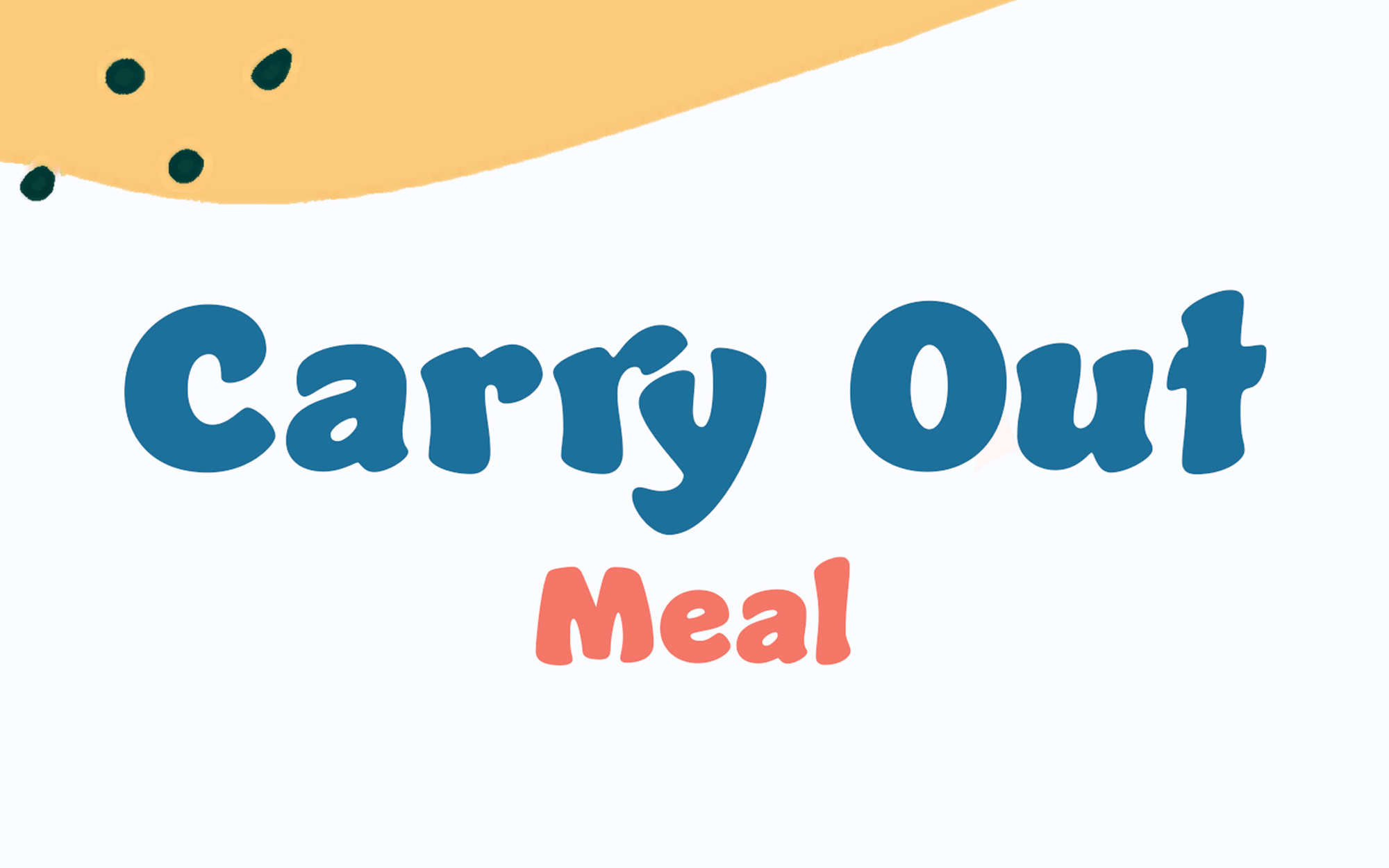 Free Carry-Out Meal @ 5pm May 6, 2021