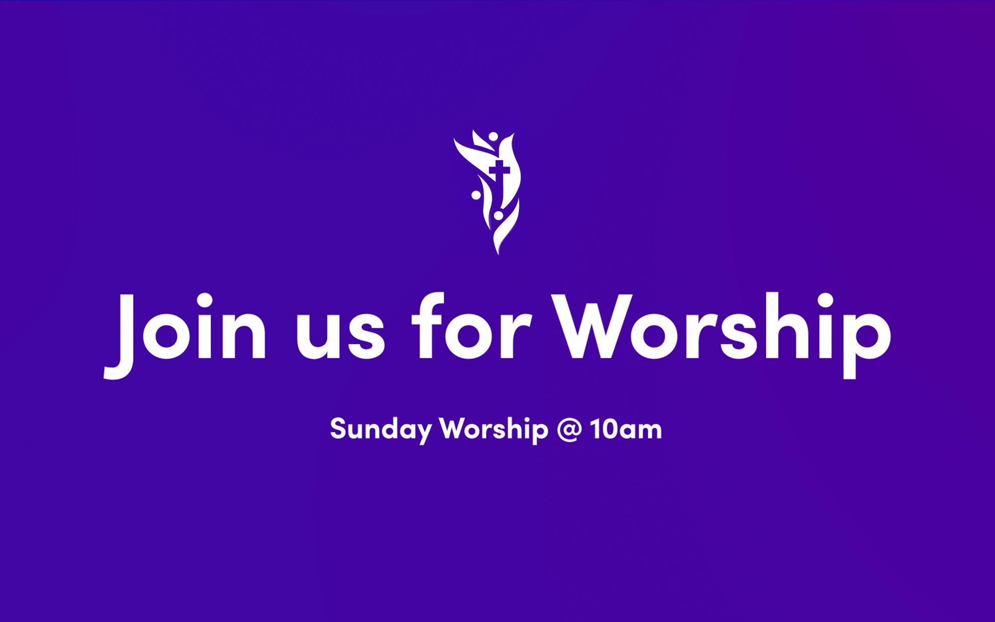 Worship Service & Facebook Live @ 10:00am – October 24, 2021